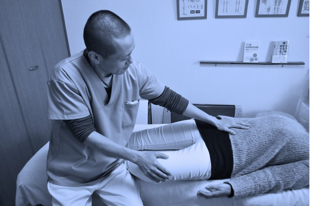 生駒市の自律神経専門整体院の施術1