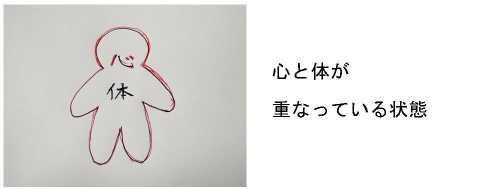 生駒市の自律神経専門整体院「理楽ウェーブ」の心体の重なり画像