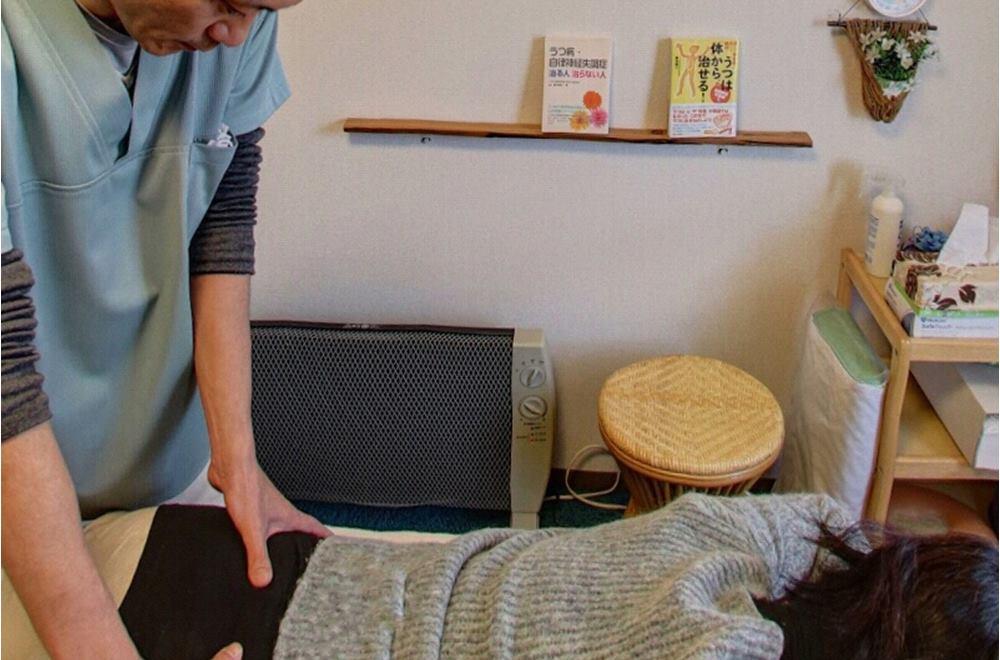 生駒市の自律神経専門整体院の施術