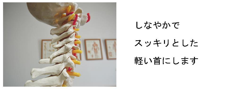 生駒市自律神経専門整体院「理楽ウェーブ」の軽い首の画像