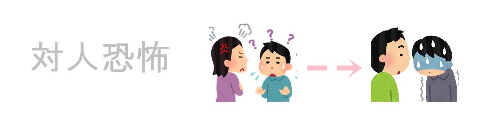 対人恐怖症の克服|生駒市の自律神経専門整体院